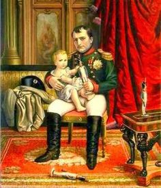 H.I.M. Emperor Napoleon of The French and son The King of Rome