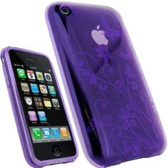 purple iphone cover