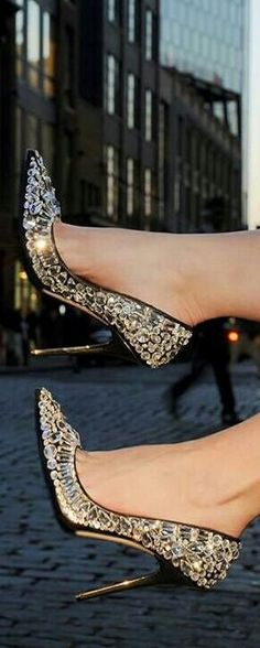 Bling out shoes
