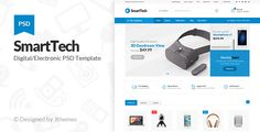 Smart Tech - Ecommerce PSD Template - Shopping Retail Download here : https://themeforest.net/item/smart-tech-ecommerce-psd-template/19481600?s_rank=144&ref=Al-fatih