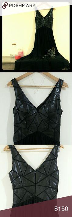 Evening Dress Long Black Dress Aidan Mattox Dresses Maxi