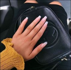 ✔ 60 best eye catching and trendy coffin acrylic nails design 20 > Fieltro.Net ✔ 60 best eye catching and trendy coffin acrylic nails design 20 > Fieltro. Natural Nail Designs, Acrylic Nail Designs, Neutral Nails, Nude Nails, Coffin Nails, Pink Coffin, Coffin Acrylics, White Acrylics, Stiletto Nails