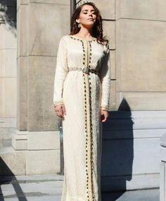 Moroccan Kaftan Formal Prom Party Gowns Muslim Evening Dress Dubai Applique dress by TheKaftanStore on Etsy Muslim Evening Dresses, Muslim Wedding Dresses, Arab Fashion, Korean Girl Fashion, Muslim Fashion, Party Gowns, Prom Party, Moroccan Caftan, Applique Dress