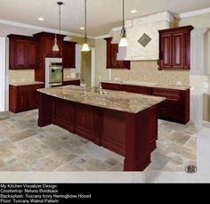 Countertoplesher Natural Stone Quartz & Tile Using Linwood Glamorous Virtual Kitchen Color Designer 2018