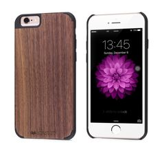 Walnut iPhone 8 / 7 Wood Case - iCASEIT Handmade Premium Quality Genuinely Natural & Unique Wooden Cover for iPhone 8 / iPhone 7 - - Walnut Iphone Sc, Buy Iphone 6, Iphone 8 Cases, Apple Iphone 6, Phone Case, Rainbow Wood, 6s Plus, Cell Phone Accessories, Profile