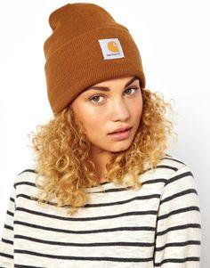 Carhartt Beanies Knit Hats Coffee 016