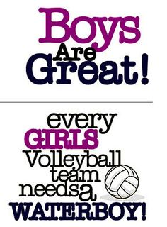 VOLLEYBALL SAYING