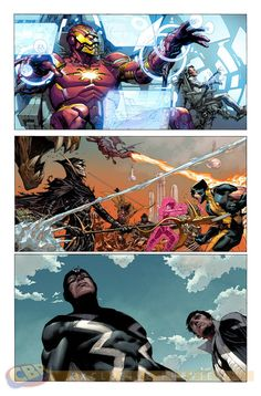 Preview: Infinity #2, Page 2 of 4 - Comic Book Resources #Marvel