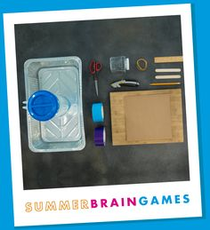 Build a paddle boat and learn about physics in MSI's free Summer Brain Games program. Diy Party Crafts, Craft Party, Science Experiments Kids, Science For Kids, Science Activities, Summer Activities, Air Cannon, Paddle Boat, Brain Games