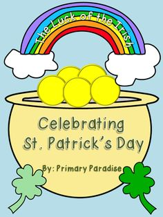 St. Patrick's Day writing and clip art freebies!