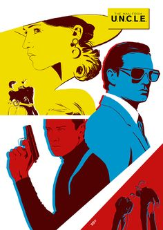 Dima Ivanov illustration — The Man from U. Stylish movie with great. Uncle Movie, Movie Tv, Movie Poster Art, Film Posters, Norman Rockwell, Codename U.n.c.l.e, Guy Ritchie Movies, Napoleon Solo, Cinema