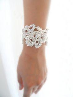 Handmade Pearl Bracelets for Brides