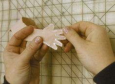 seam strengthening tutorial Also, awesome array of doll making tools and materials.