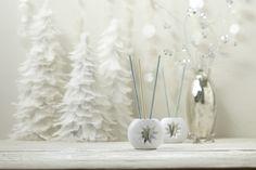 Probieren Sie auch unsere flammenlosen Raumdüfte SmartScents by PartyLite™! Kombinieren Sie z.B. Eisfrüchte mit Smaragdgrünem Balsam für ein besonderes winterliches Dufterlebnis!