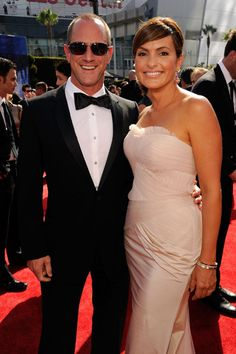 Mariska Hargitay and Christopher Meloni  perfection