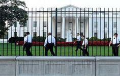 Un objeto lanzado pone la Casa Blanca en alerta