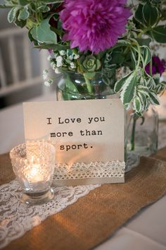 I love you more than sport