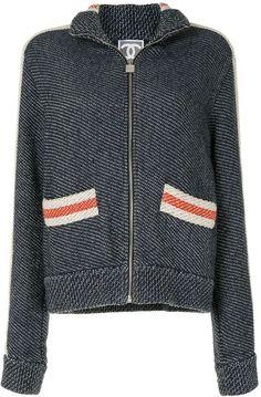 2007 Sports knitted zipped jacket Nike Jacket, Chanel, Athletic, Sports, Jackets, Fashion, Hs Sports, Down Jackets, Moda
