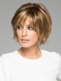 50 Chic Short Bob Hairstyles & Haircuts for Women in 2019 - Style My Hairs Bobs For Thin Hair, Short Hairstyles For Thick Hair, Medium Bob Hairstyles, Short Hair With Layers, Hairstyles Haircuts, Short Hair Cuts, Short Hair Styles, Layered Hairstyles, Anime Hairstyles