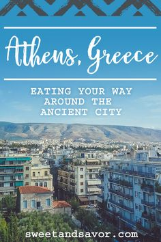Eating in Athens, Greece Sweet + Savor www. Europe Travel Tips, European Travel, Travel Guides, Places To Travel, Travel Destinations, Places To Go, European Vacation, Amazing Destinations, Vacation Spots