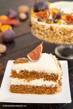 No Cook Desserts, Gluten Free Desserts, Sweets Recipes, Cake Recipes, Cooking Recipes, Romanian Desserts, Different Cakes, Crazy Cakes, Sweet Cakes