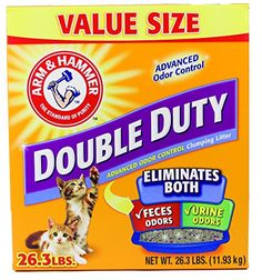Arm  Hammer Double Duty Litter 263 Lbs *** For more information, visit image link. (Note:Amazon affiliate link)