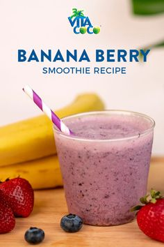 Simple Smoothies With The Added Power of VitaCoco. Try Today! Refresh | Recharge | Relax