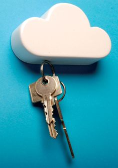 Cloud Key Holder. Given out at the Stockholm Furniture Fair (via NOTCOT)