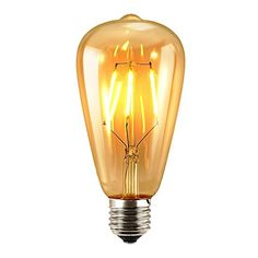 Awesome Antik LED Gl hbirne Sun Run W ST Gl hlampe Vintage E https