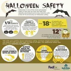 Halloween is less than one week away! Check out these tips for a fun and safe day.