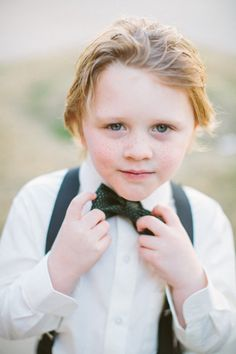little man in a bow tie Photography by Taylor Lord Photography / taylorlord.com