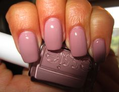 "Nail color: Essie ""Lady Like"" - hilarious. this is the only nail color i wear."