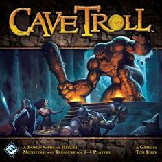 Cave Troll is a fast-paced dungeon-crawling board game of strategy, looting, and monster-bashing.