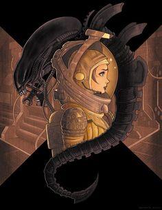 'Alien Visions' by Chrissie Zullo