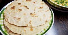 Veganský recept na indické placky či plochý chléb čapátí ( chapati ) - vegan, vegetarian Chapati, Quiche, Good Food, Ethnic Recipes, Indie, Fitness, Quiches, Healthy Food, Yummy Food
