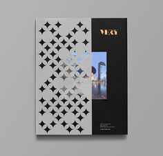 """Another sophisticated branding project by Anagrama (previously). """"Very is a developing residential area in Bangkok, Thailand with plans to build condominiums and townhouses in the… Graphisches Design, Buch Design, Grid Design, Cover Design, Layout Design, Editorial Layout, Editorial Design, Brochure Cover, Hotel Brochure"""