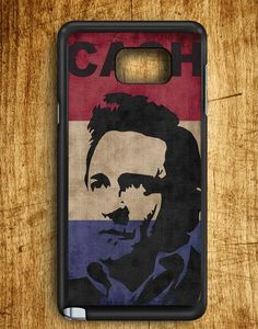Johnny Cash Sillhouette Samsung Galaxy Note Edge Case