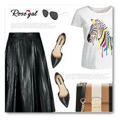 """""""Rosegal 7"""" by bliznec ❤ liked on Polyvore featuring MICHAEL Michael Kors and Ava & Aiden"""