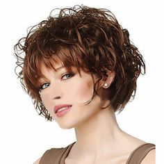 High-quality European and American Fashion High-quality Synthetic Wig High Temperature Wire Little Curls - USD $ 15.47