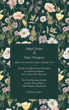 Design wedding invitations with Vistaprint! With hundreds of wedding invitation templates to choose from, there's something to suit all wedding themes and styles. Design your wedding invites now! Wedding Invitation Envelopes, Beautiful Wedding Invitations, Personalized Invitations, Custom Wedding Invitations, Personalized Wedding, Invites, Wedding Themes, Wedding Events, Weddings