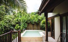 Hoteltipp: Anantara Rasananda Koh Phangan; jedes Zimmer hat seinen eigenen Pool © www.sommertage.com Koh Phangan, Hotels, Paradise On Earth, Last Minute Vacation, Summer Days, Travel Tips, Travel