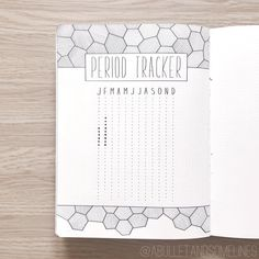Top 12 Habit Trackers | My Inner Creative | Love the simple  to draw but so cool looking design on this bullet journal page #bujo