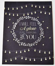 Frank Sinatra quote Wedding Print Chalkboard by firstsnowfall, $35.00