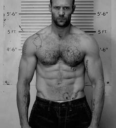 Jason statham shirtless who one hot men Jason Jason Statham Body, Jason Stathom, Celebrity Selfies, Bear Men, Hairy Chest, Famous Men, Famous People, Dwayne Johnson, Los Angeles