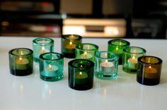 グリーン系のKiviに灯る、ユラユラと揺れるティーライトの小さな炎。 写真右より順に(Kartio)Green、Olive、Forest green(上... Celtic Goddess, Irish Celtic, Hearth, Product Design, Luxury Homes, Lanterns, Candle Holders, New Homes, Happiness