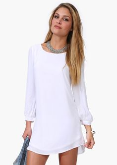 ♡ This dress is simple but the possibilities are endless. Fashion Beauty, Girl Fashion, Fashion Outfits, Womens Fashion, Fashion Design, Stylish Outfits, Cute Outfits, Cool Style, My Style