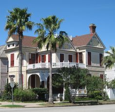 Victorian home in Galveston, TX