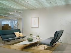 Eames Sofa Compact - Lounge Seating - Herman Miller Traditional Sofa, Outdoor Furniture Sets, Outdoor Decor, Barcelona Chair, Long Relationship, Charles & Ray Eames, George Nelson, Lounge Seating, Mid Century Modern Design