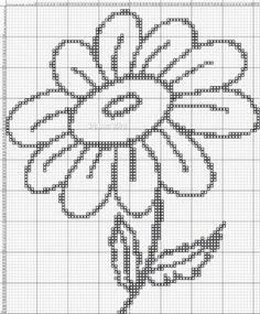 The 1138 best Cross stitch flowers images on Pinterest