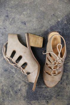 Fallyn Lace Up Heel - The Rage - 1